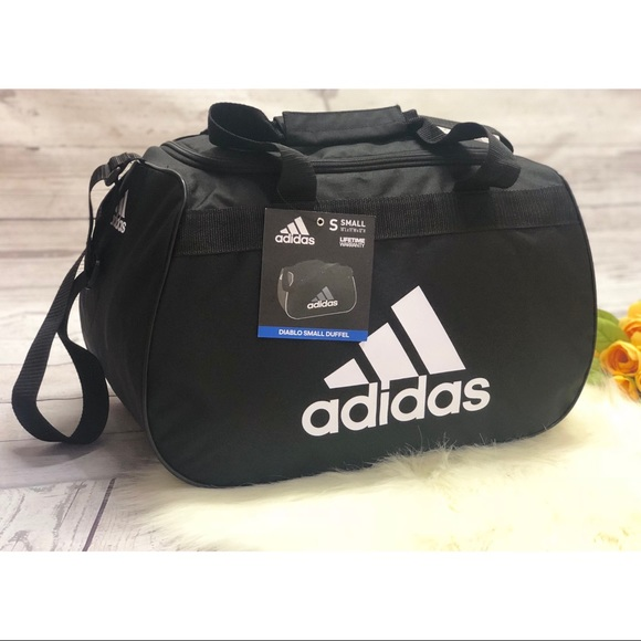 7a522f89b49b Adidas Diablo small duffel Athletic gym bag